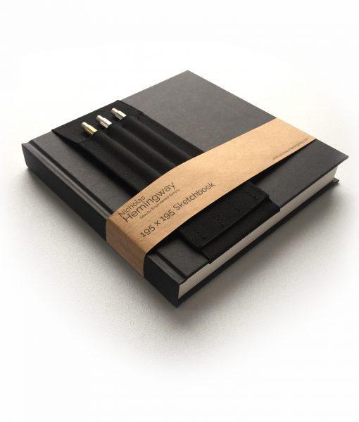 Large Sketchbook Set with Strap 1