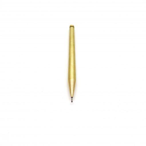 Slimline brass mechanical pencil